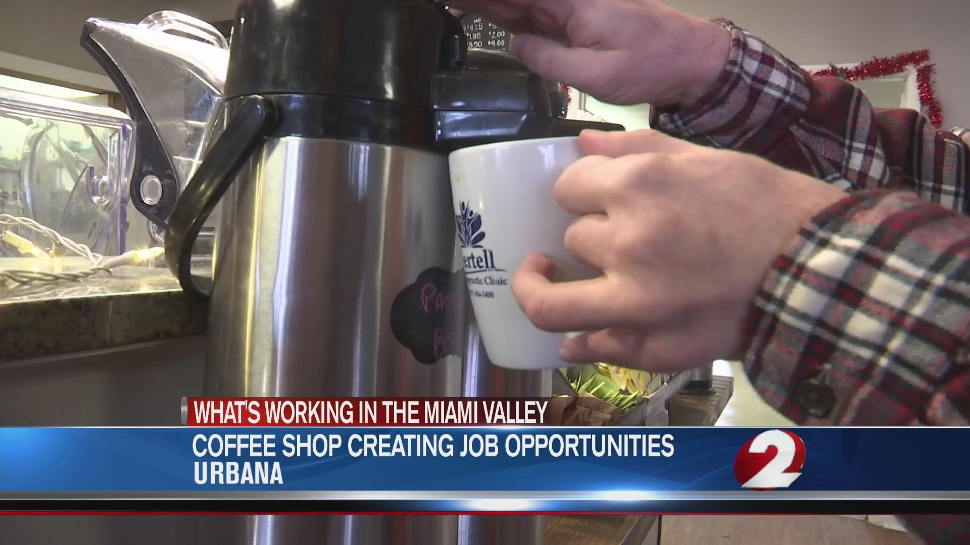 Coffee shop creating job opportunities