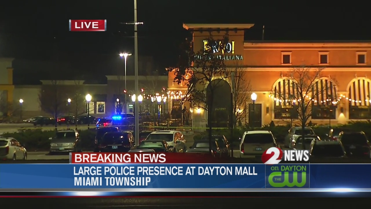 Dayton Police bomb squad called to Dayton Mall