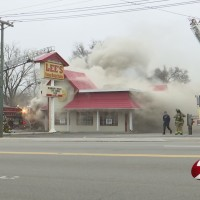 Fire sparks at Harrison Twp. Lee's Famous Recipe Chicken