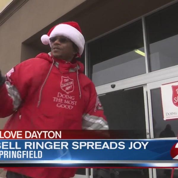 I Love Dayton: Bell ringer spreads joy
