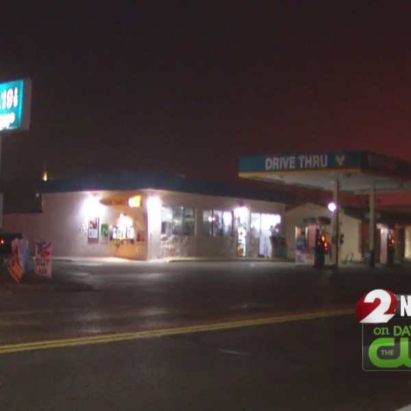 Police investigate pair of gas station robberies