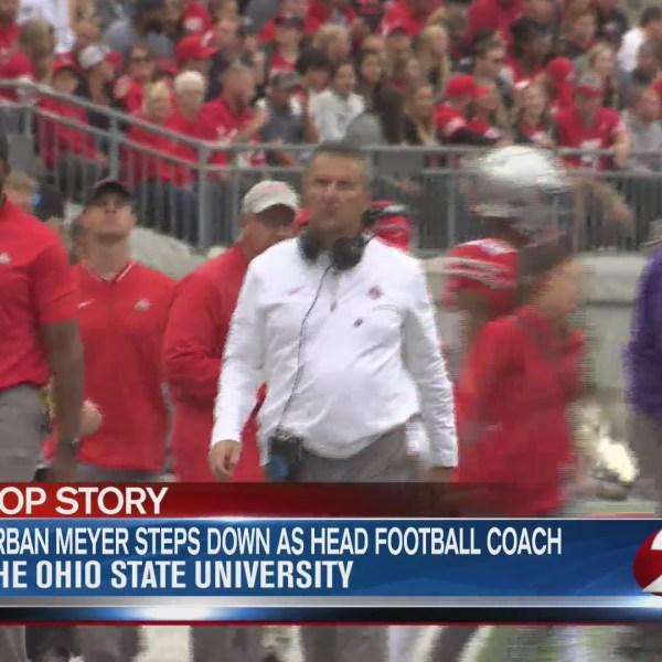 Urban Meyer steps down as head football coach