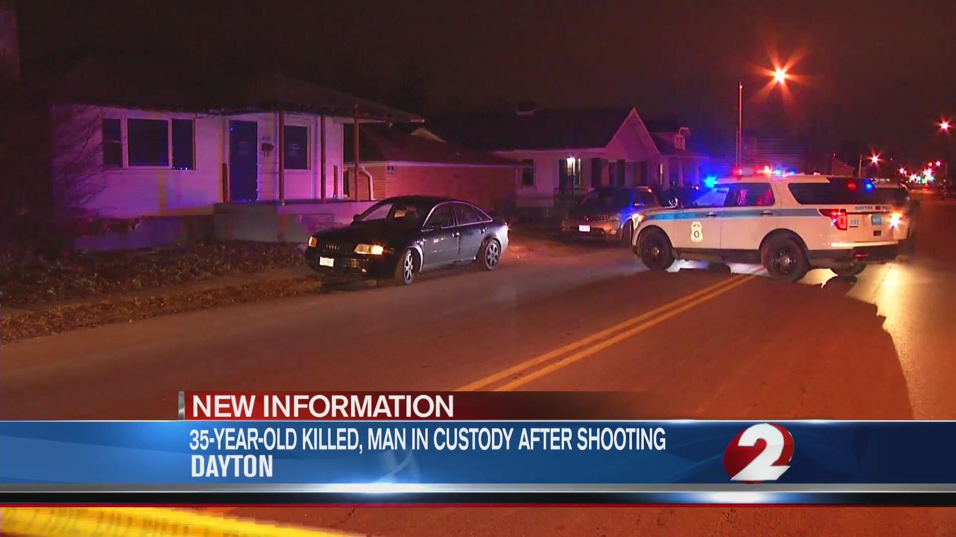 Victim in Germantown St  shooting identified, suspect in custody