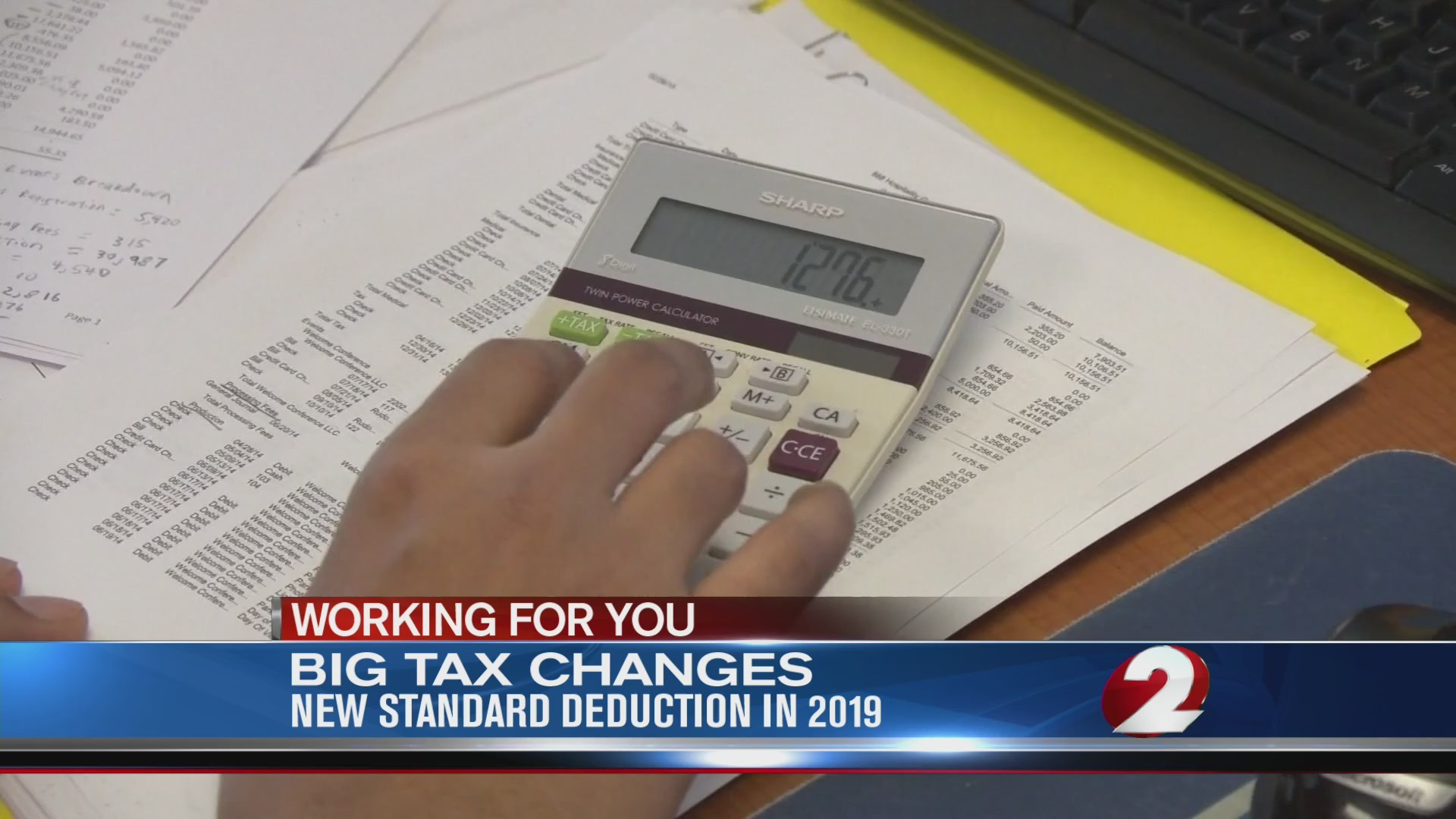 Big tax changes, new standard deduction in 2019