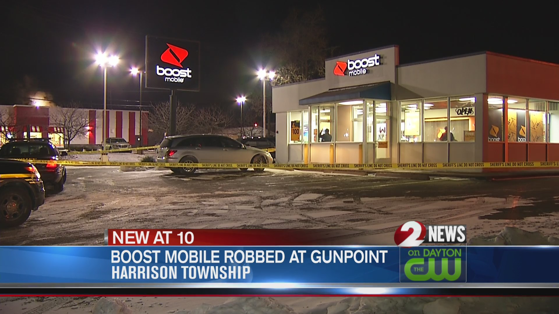 Armed robbery reported at Harrison Twp  Boost Mobile store