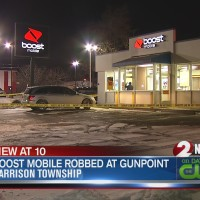 Boost Mobile robbed at gunpoint