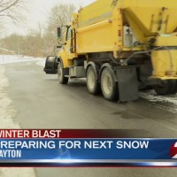 Dayton crews prepping for next snow event