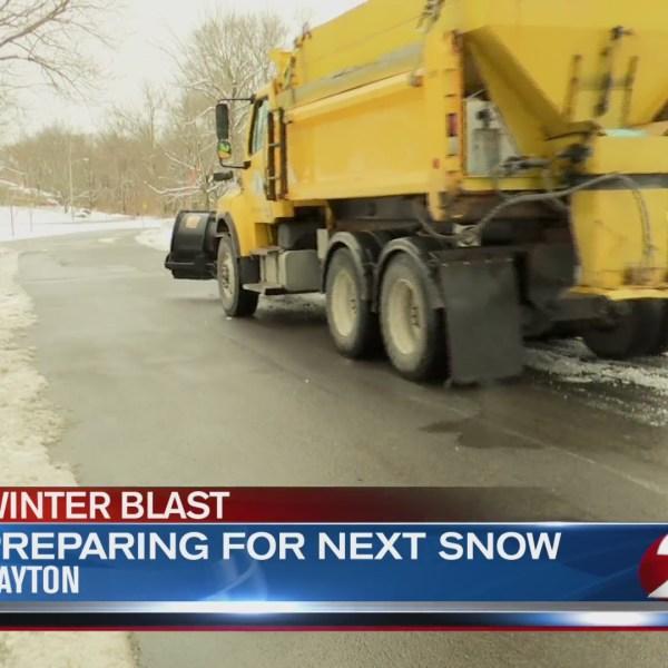 Dayton crews prepping for next snow event
