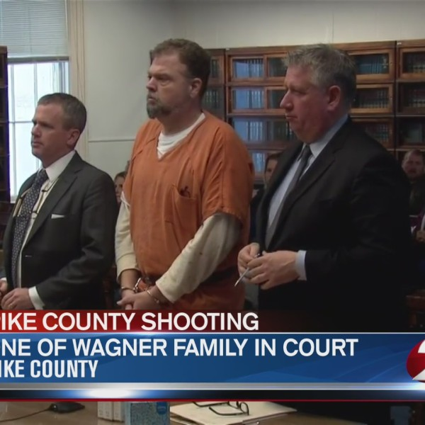 "George ""Billy"" Wagner appears in court"