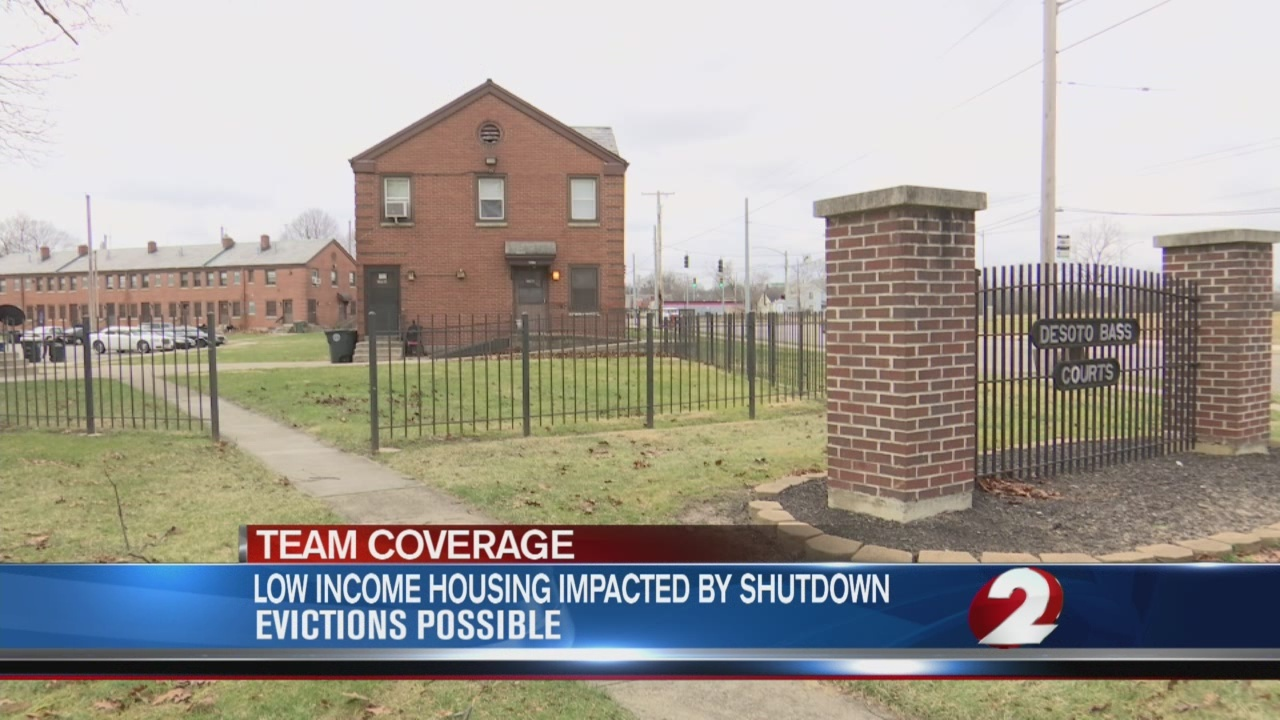 Low income housing impacted by shutdown