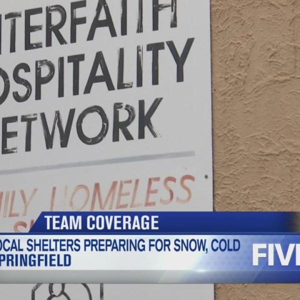 Springfield homeless shelter prepping for winter storm