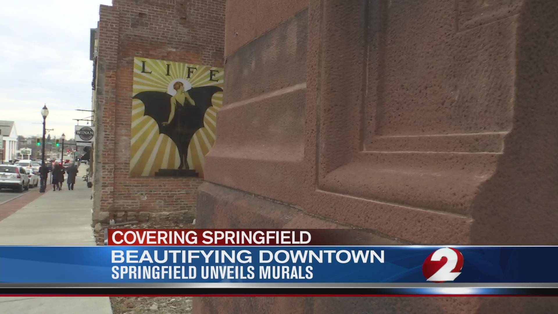 Springfield unveils downtown murals