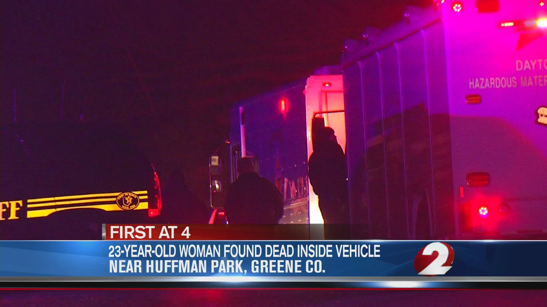 23-year-old woman found dead inside vehicle