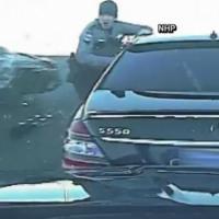 Close Call: Trooper Dodges Drunk Driver