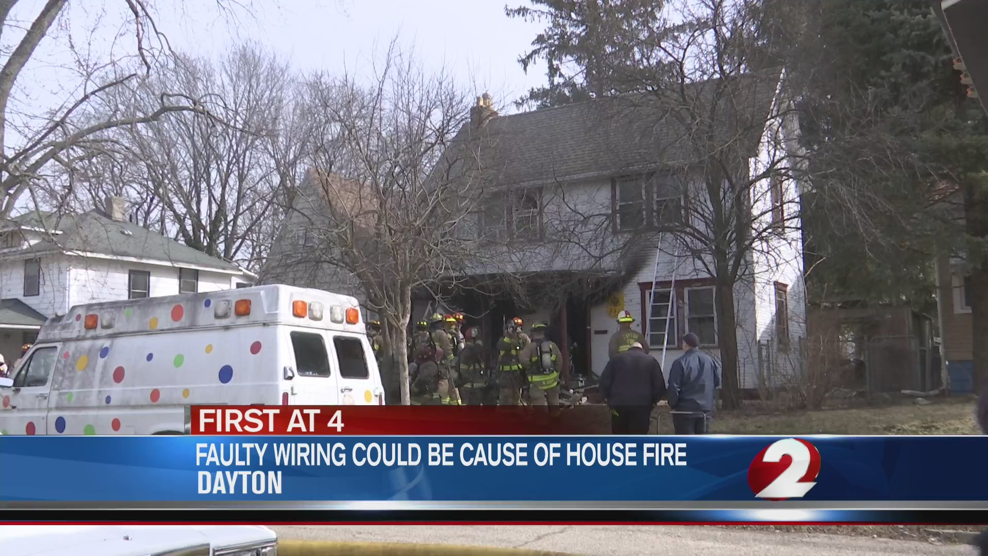 Faulty wiring could be cause of house fire