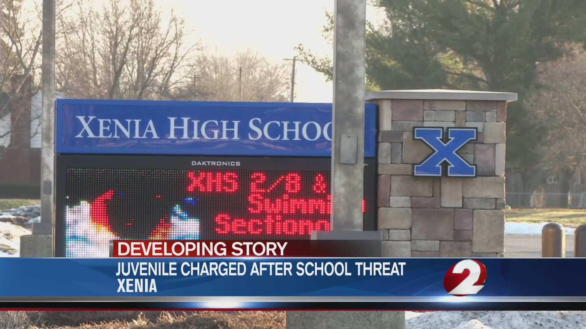Juvenile charged for school threat