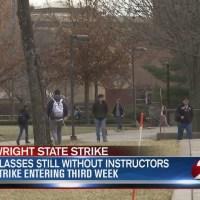 Some WSU students still have no alternative instructors as strike enters third week