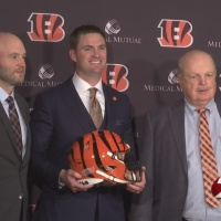 Zac Taylor ready to bring a new day to Who Dey