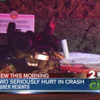 2 hurt in Huber Heights rollover crash