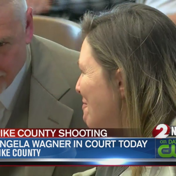 Angela Wagner appears in court