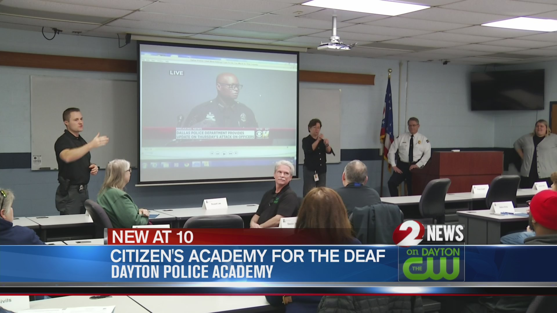 Dayton PD begins Citizens Academy for the Deaf