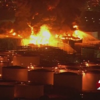 Cleanup underway after fire at Texas petrochemicals facility