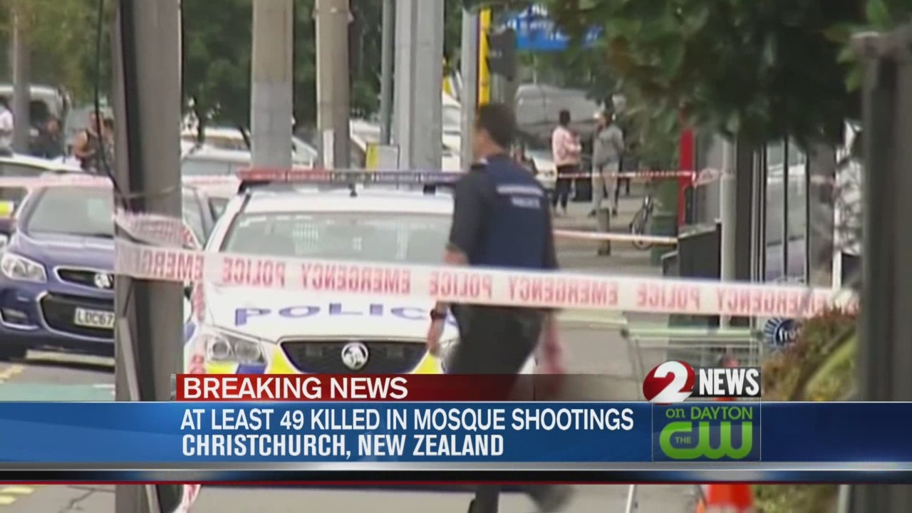 Deadly New Zealand mosque shootings leave 49 dead