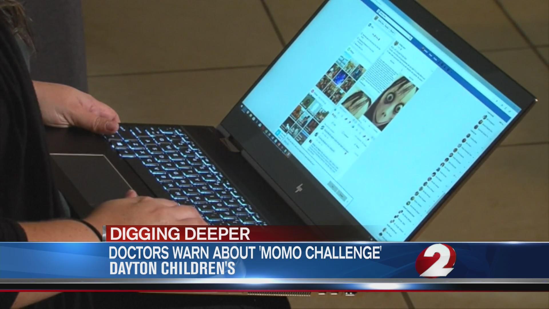 Doctors warn parents about 'Momo Challenge'