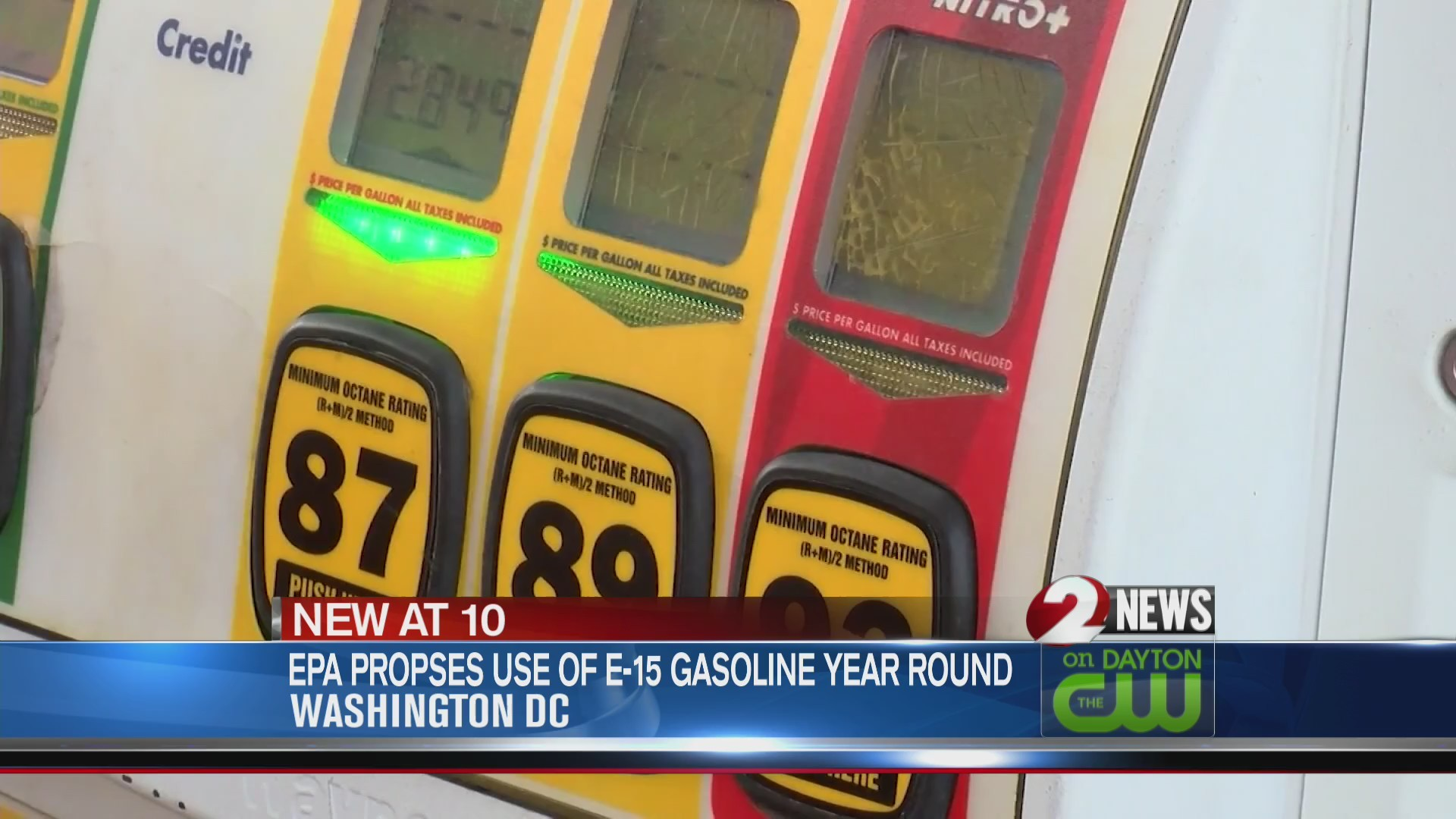 EPA proposes use of E-15 gasoline year round