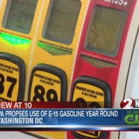 EPA proposes use of E-15 gasoline year round