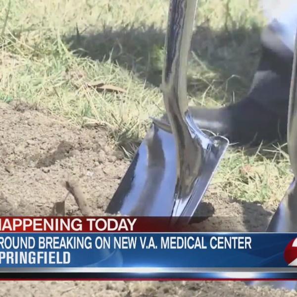 Ground breaking on new V.A. Medical Center