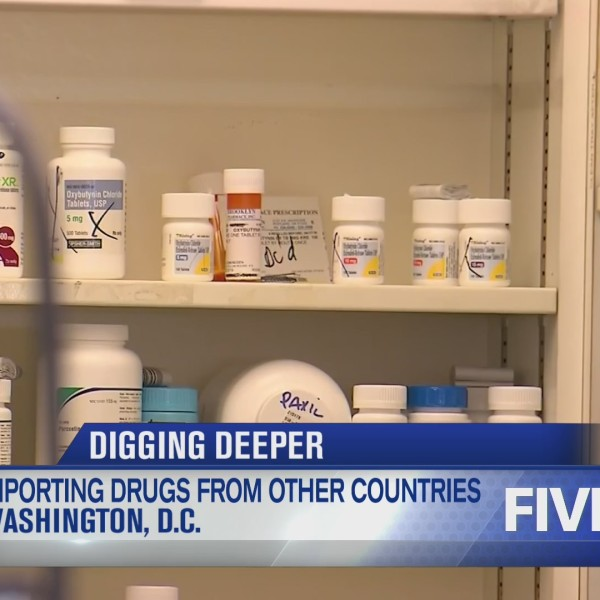 Importing drugs from other countries