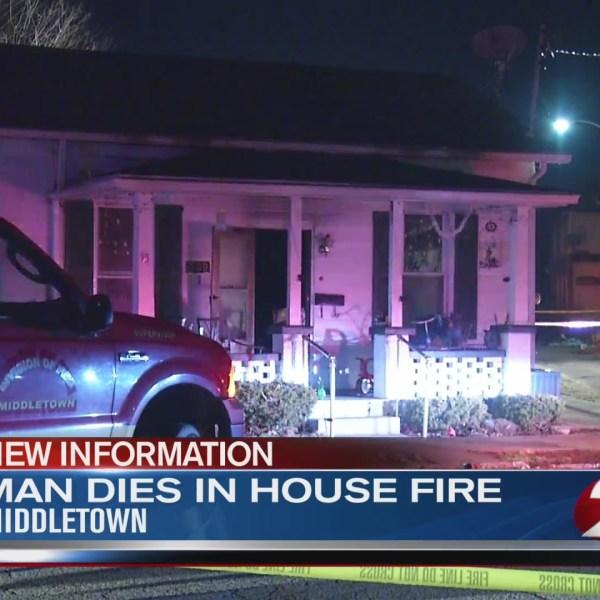 Man dies in house fire