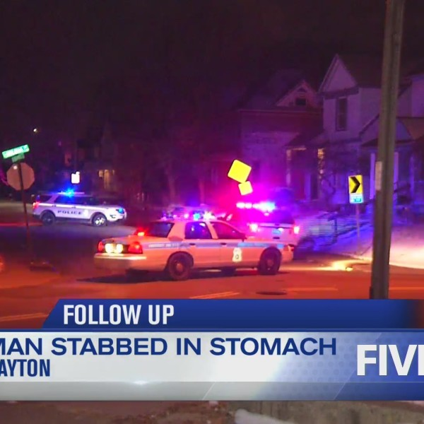 Man stabbed in stomach overnight