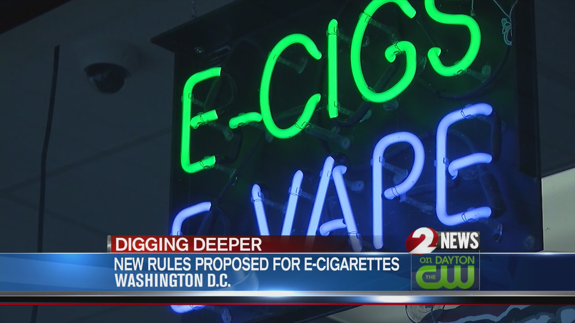 New rules proposed for e-cigarettes