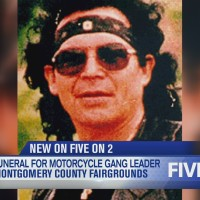 Notorious motorcycle gang leader's funeral set for Montgomery Co. fairgrounds