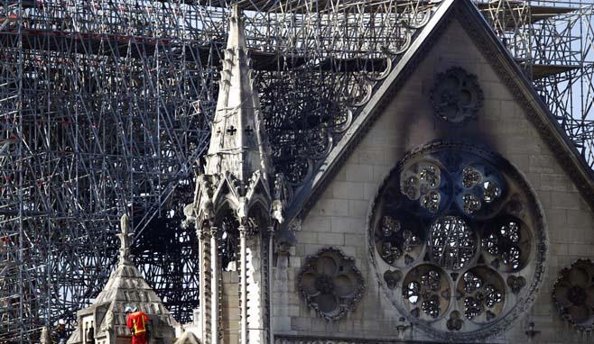 APTOPIX France Notre Dame Fire_1555607283193
