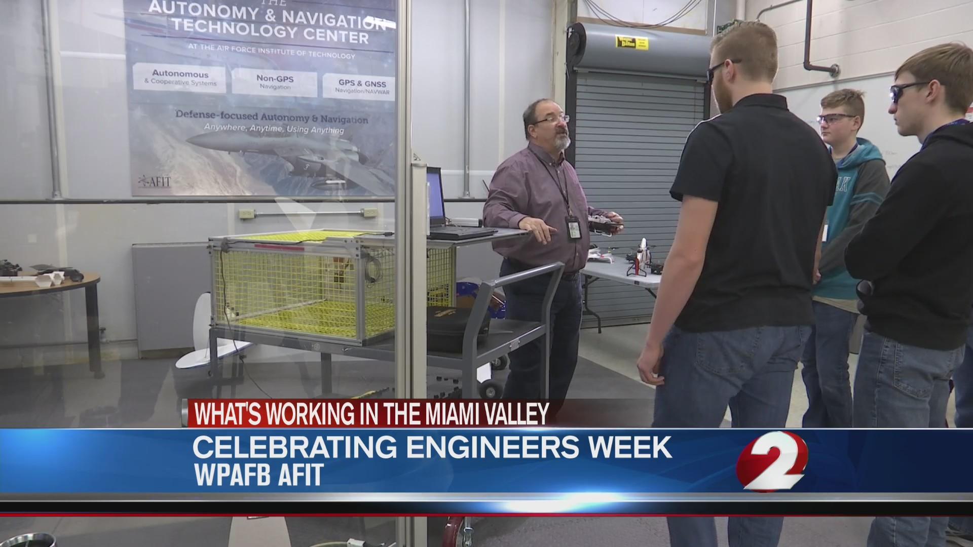 Celebrating Engineers Week at WPAFB
