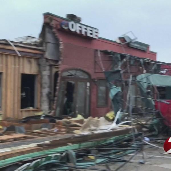 'Devastation' as tornado rips through Louisiana town