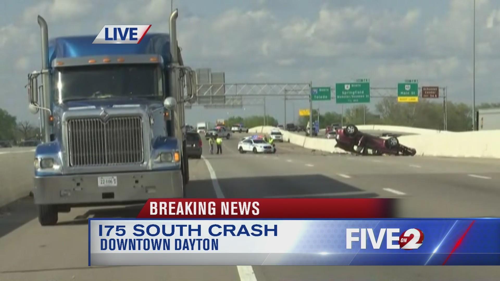 I-75 SB reopens past SR-48 following crash