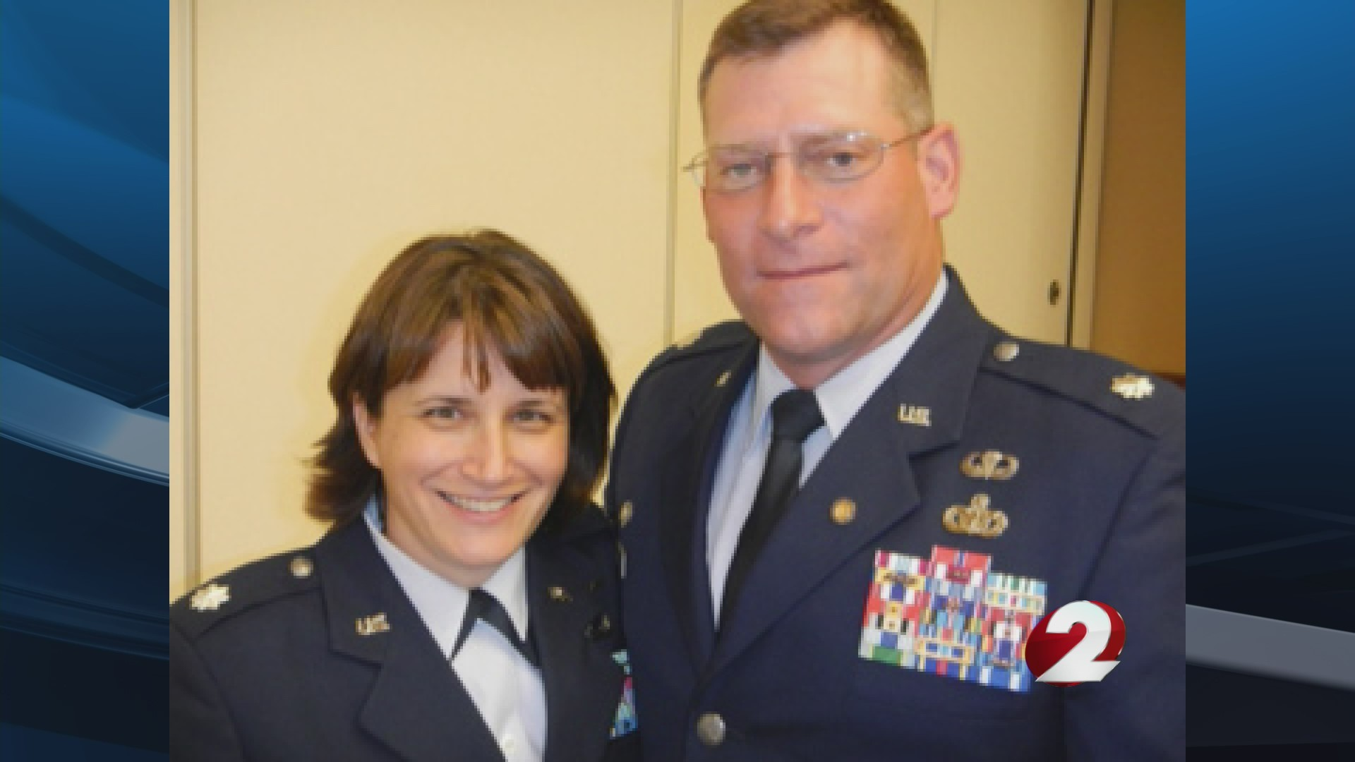 Married military couple to be honored at Thursday's Dragons game