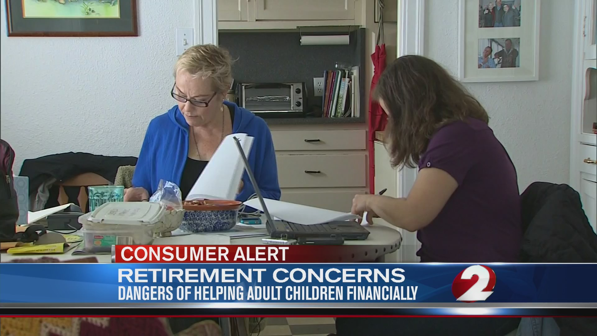 Retirement Concerns: Dangers of helping adult children financially