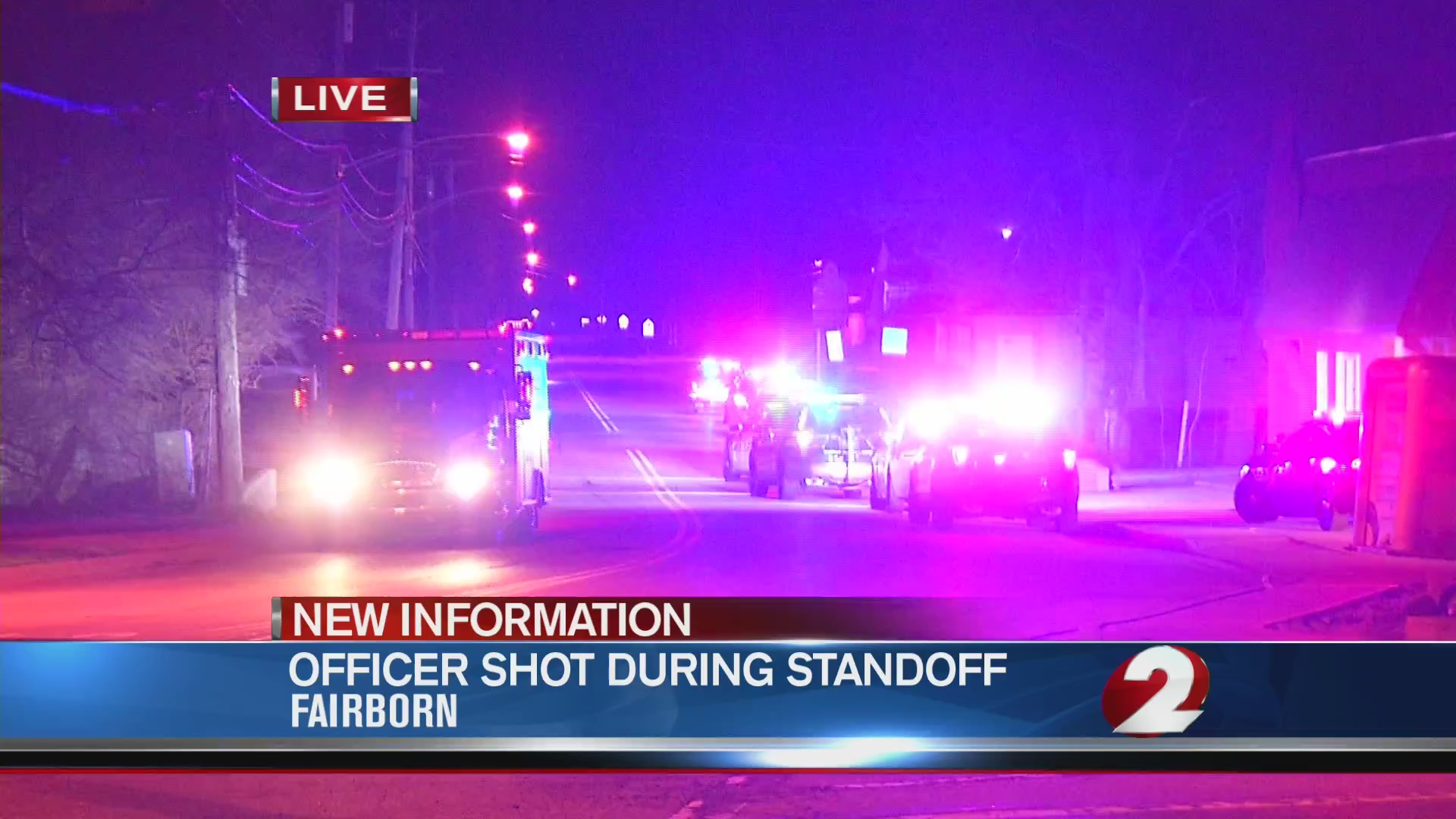 Suspect ID'd, charged for shooting Fairborn police officer