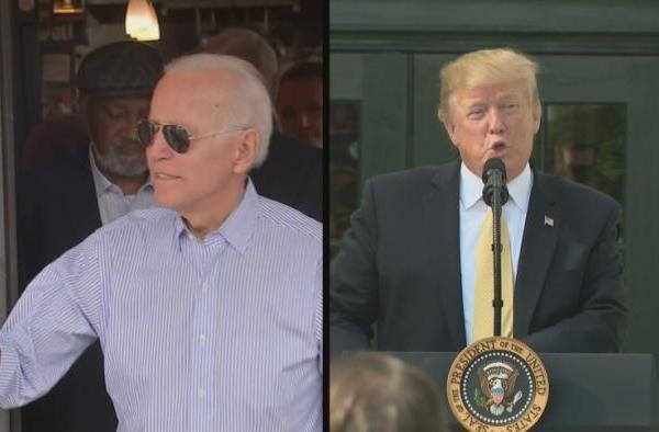Trump Weighs In On Biden's Bid For President