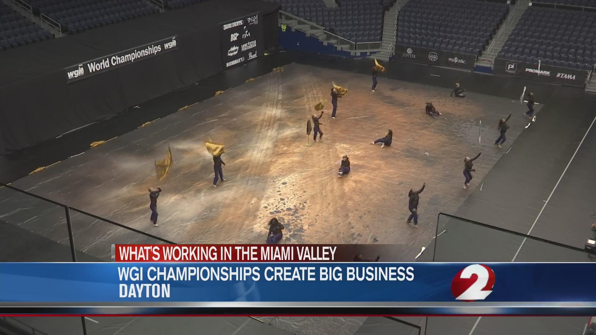 WGI championships create big business