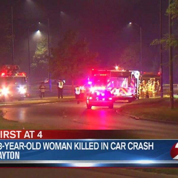23-year-old woman killed in car crash