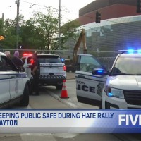 Chief Biehl speaks on keeping public safe during hate rally