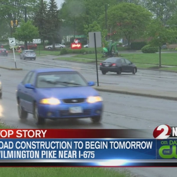 Construction on Wilmington Pike to begin Monday