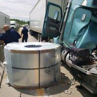 Crash closes I-70 in Madison County