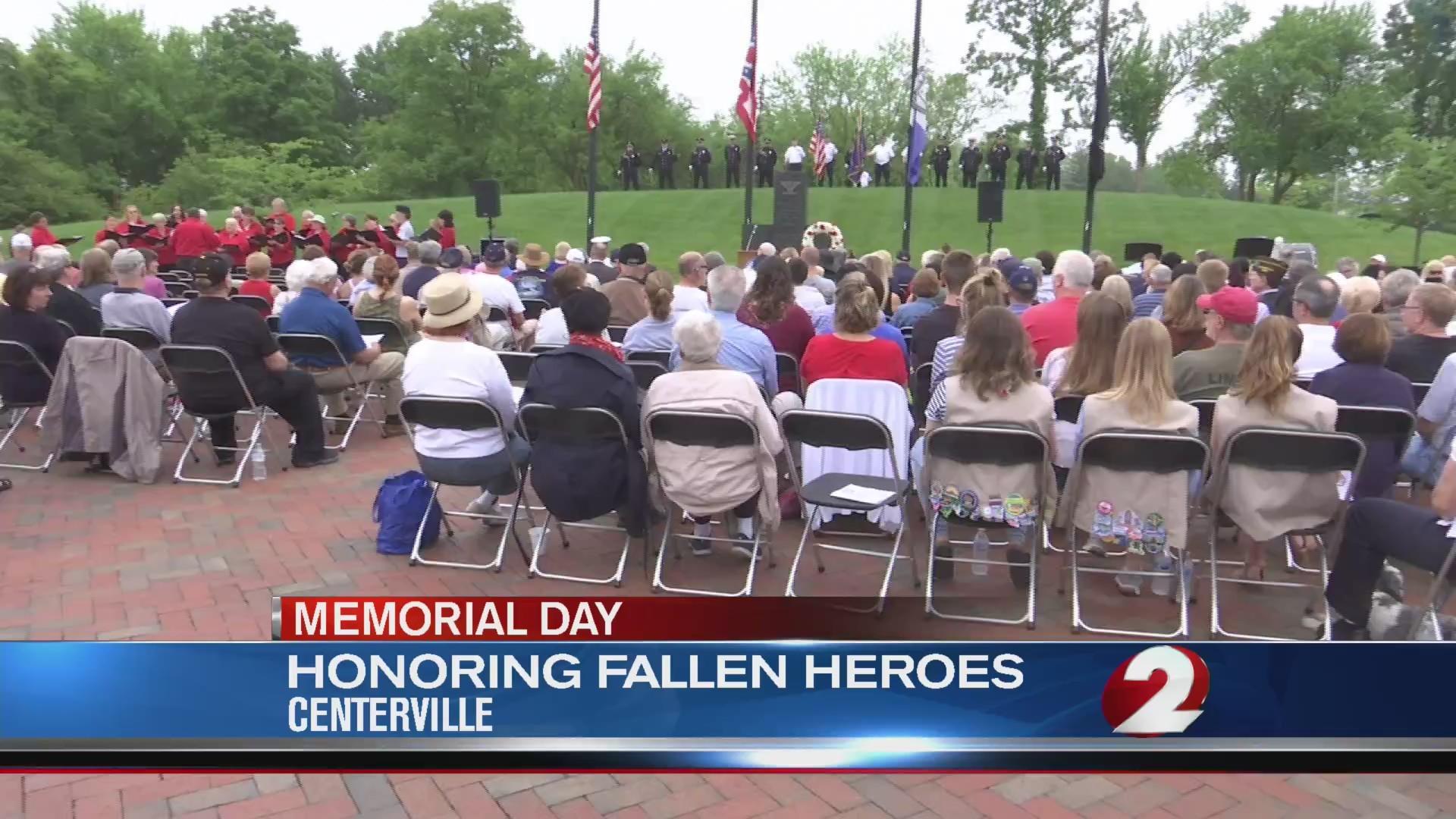 Honoring fallen heroes in Centerville
